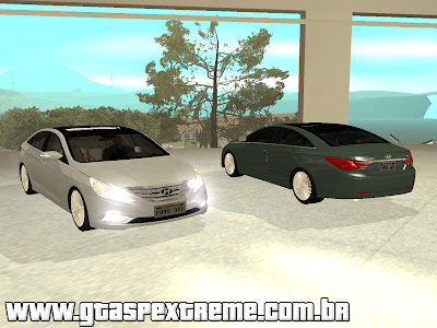 Hyundai Sonata 2012 para GTA San Andreas